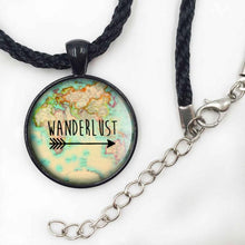 3S Deals Necklaces Black rope 25mm Wanderlust Jewelry