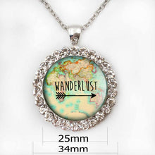 3S Deals Necklaces Necklace 25mm Wanderlust Jewelry