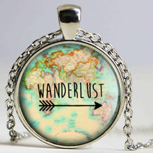 3S Deals Necklaces Silver Pendant Wanderlust Jewelry