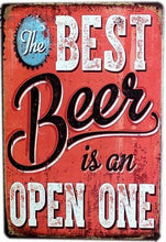 3S Deals Plaques & Signs Best Beer Vintage Beer Signs