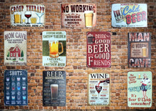 3S Deals Plaques & Signs Buy 2 - get 3rd for only $1 ; leave choice in comments Vintage Beer Signs