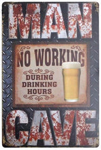 3S Deals Plaques & Signs Man Cave Vintage Beer Signs