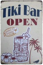 3S Deals Plaques & Signs Tiki Bar Vintage Beer Signs
