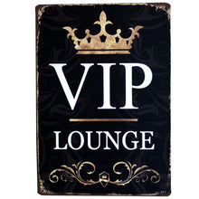 3S Deals Plaques & Signs VIP Lounge Vintage Beer Signs
