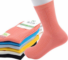 3S Deals Socks Random Mix / One size fits all - 5 - 7.5 US Womens Colorful Bamboo Fiber Socks - 5 Pair