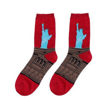 3S Deals Socks Statue of Liberty Famous Painting Art Socks - 1 Pair