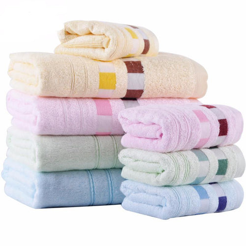 3S Deals Towels 2pc Bamboo Bath Towel Set