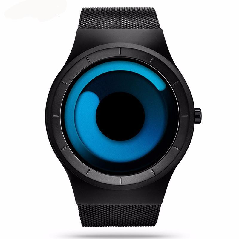 3S Deals Watches Black Vortex Luxury Watch