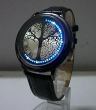 3S Deals Watches Black w/tree Minimalist LED Watch