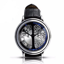 3S Deals Watches Silver w/tree Minimalist LED Watch