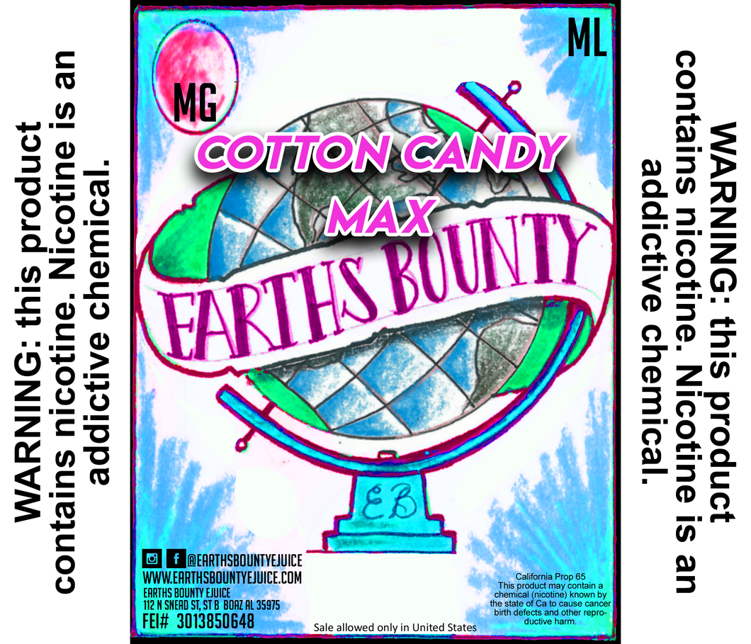Cotton Candy Max