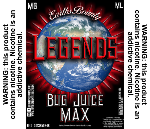 Legends Bug Juice Max