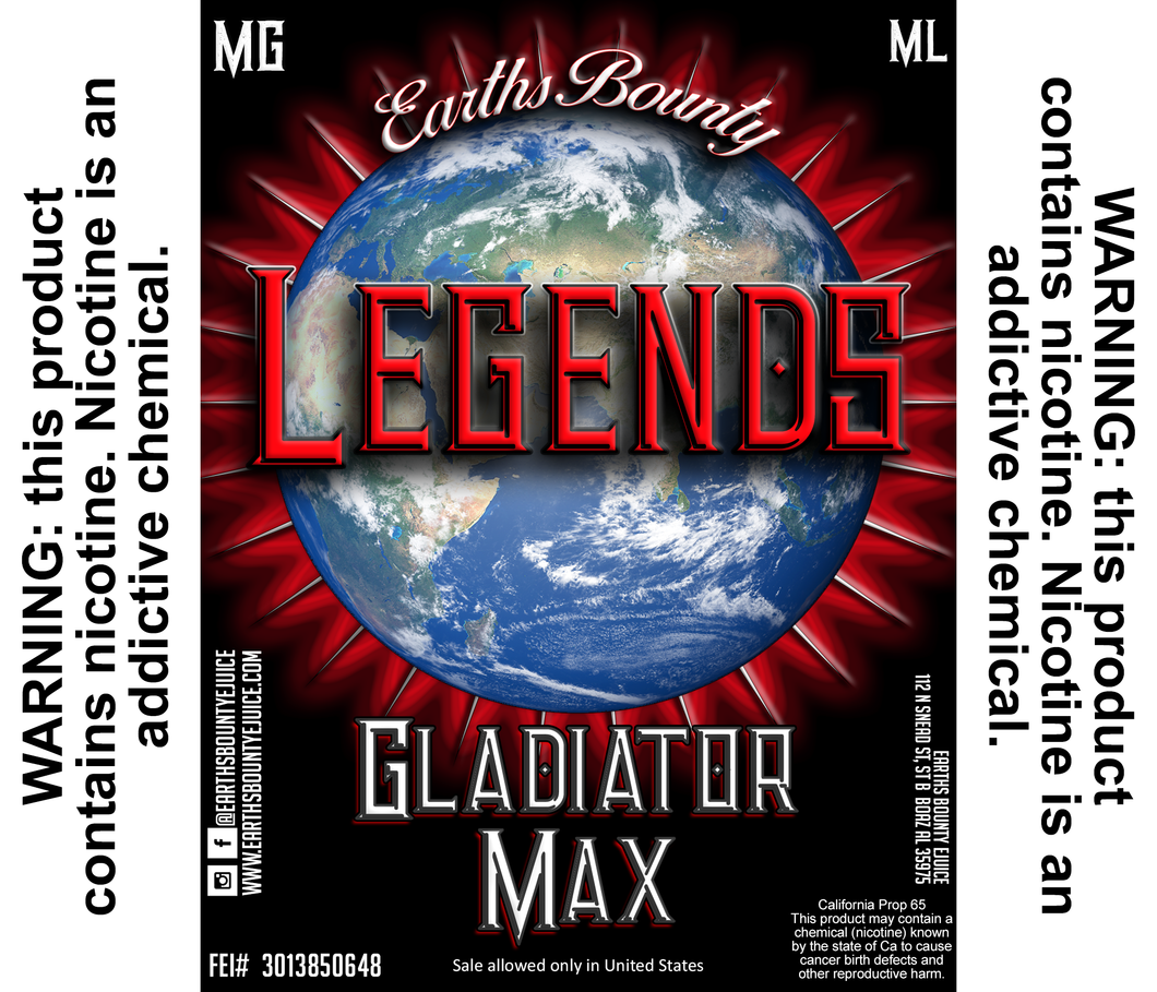 Legends Gladiator Max