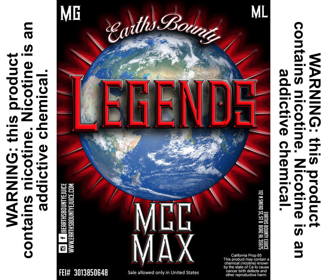 Legends MCC Max