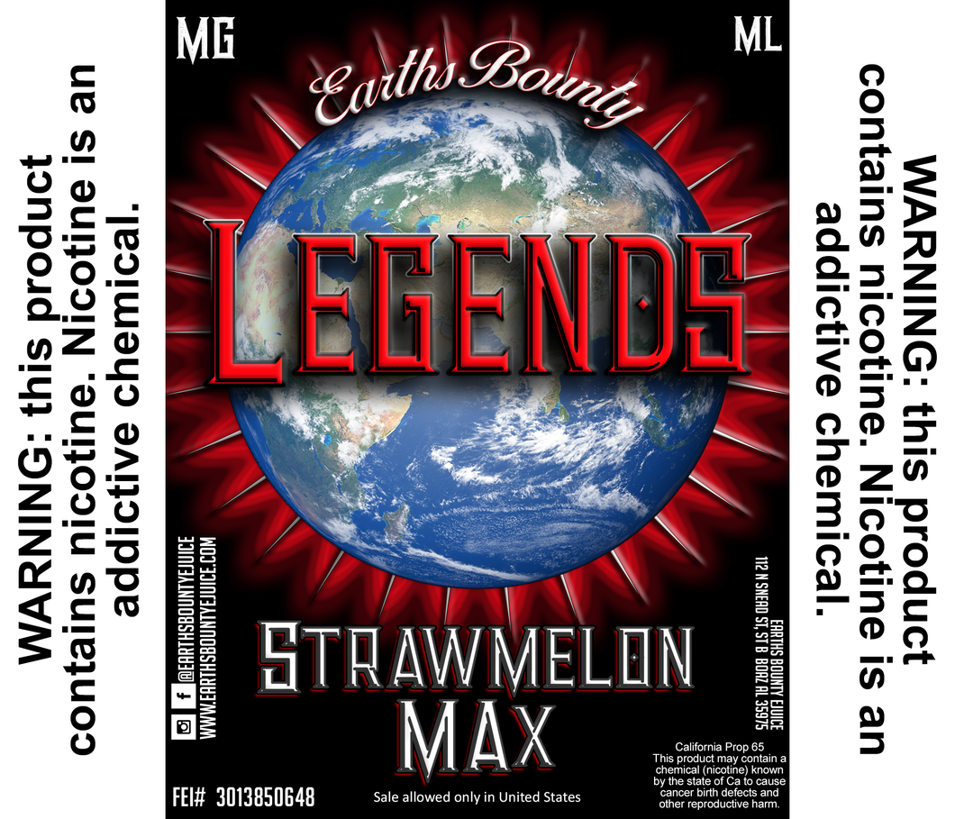 Legends Strawmelon Max