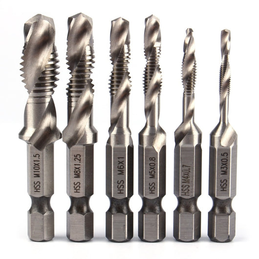 All-In-One Drill and Tap Drill Bit