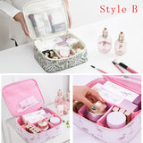 The Organizer Fashion Travel Cosmetics Bag - 30 Cool Colors