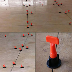 All NEW Ezi-Tile 50pc Reusable Tile Leveling System