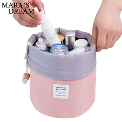 The Barrel Travelling Cosmetic Bag - 6 Funky Colors