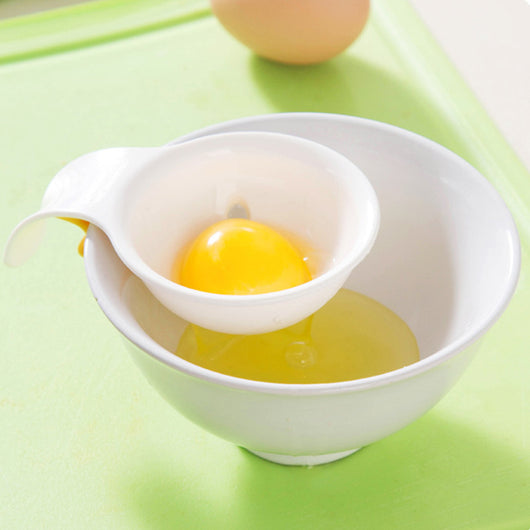 Mini Egg Yolk and White Separator with Silicone Bowl Holder