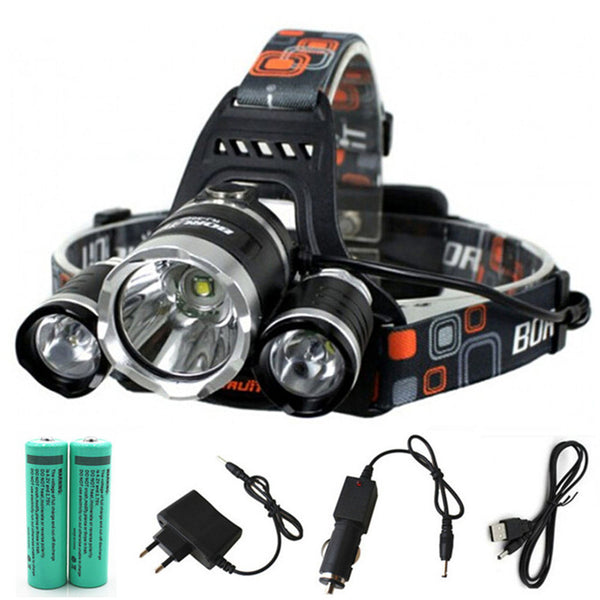 The Ultimate LED Headlamp with 12000lm of Rechargeable Lighting Power!