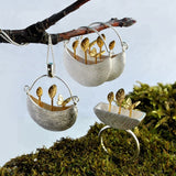 Silver Little Garden Jewelry Set
