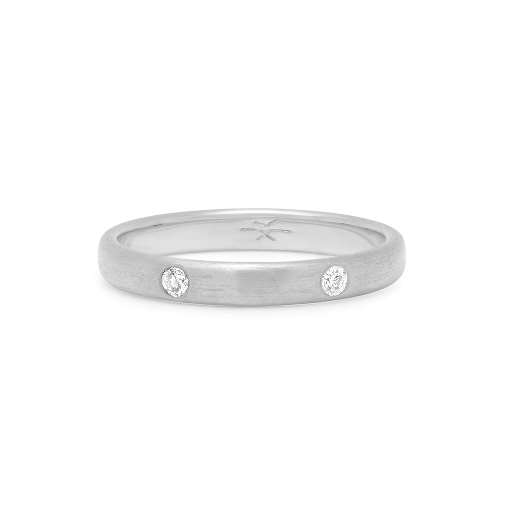 2-STONE STACKING RING