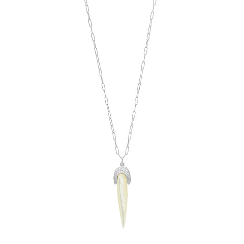 FAN SPIKE NECKLACE