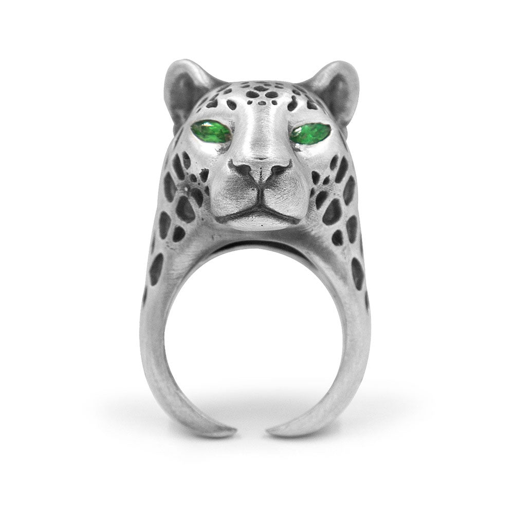 RAVEN THE LEOPARD RING