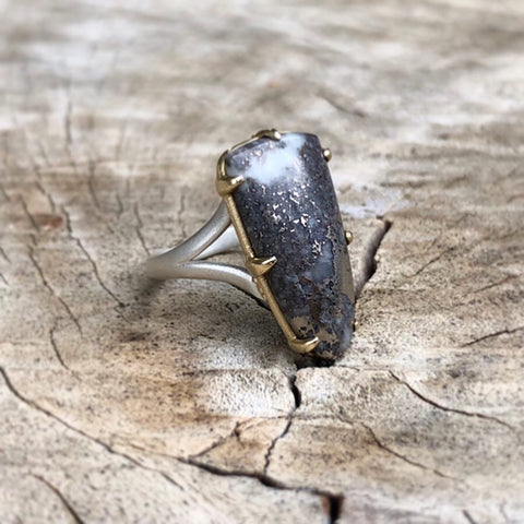 MOHAWKITE RING (ONE OF A KIND)