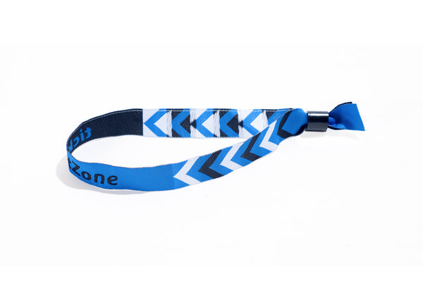 Pre-Printed Woven ticketZone Wristbands