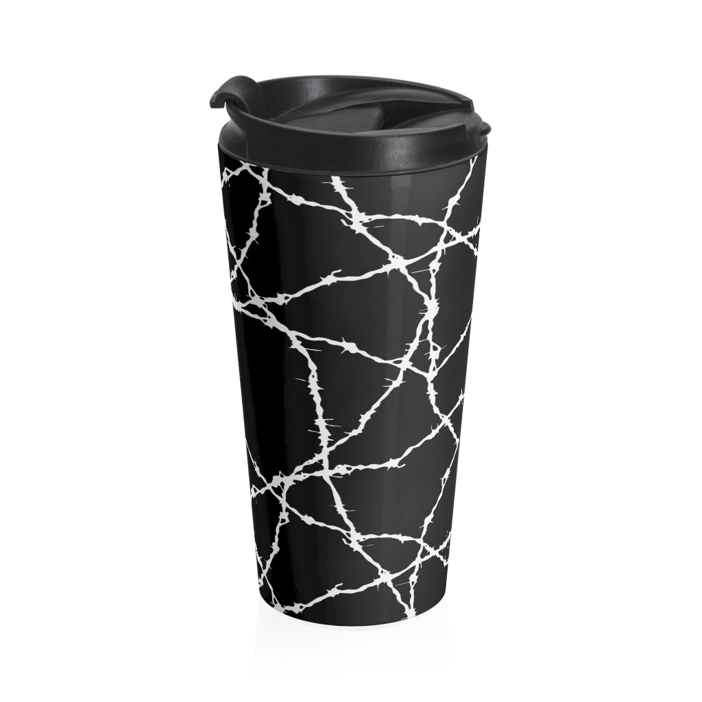 Wired Stainless Steel Travel Mug Artwork by: R.Rosales