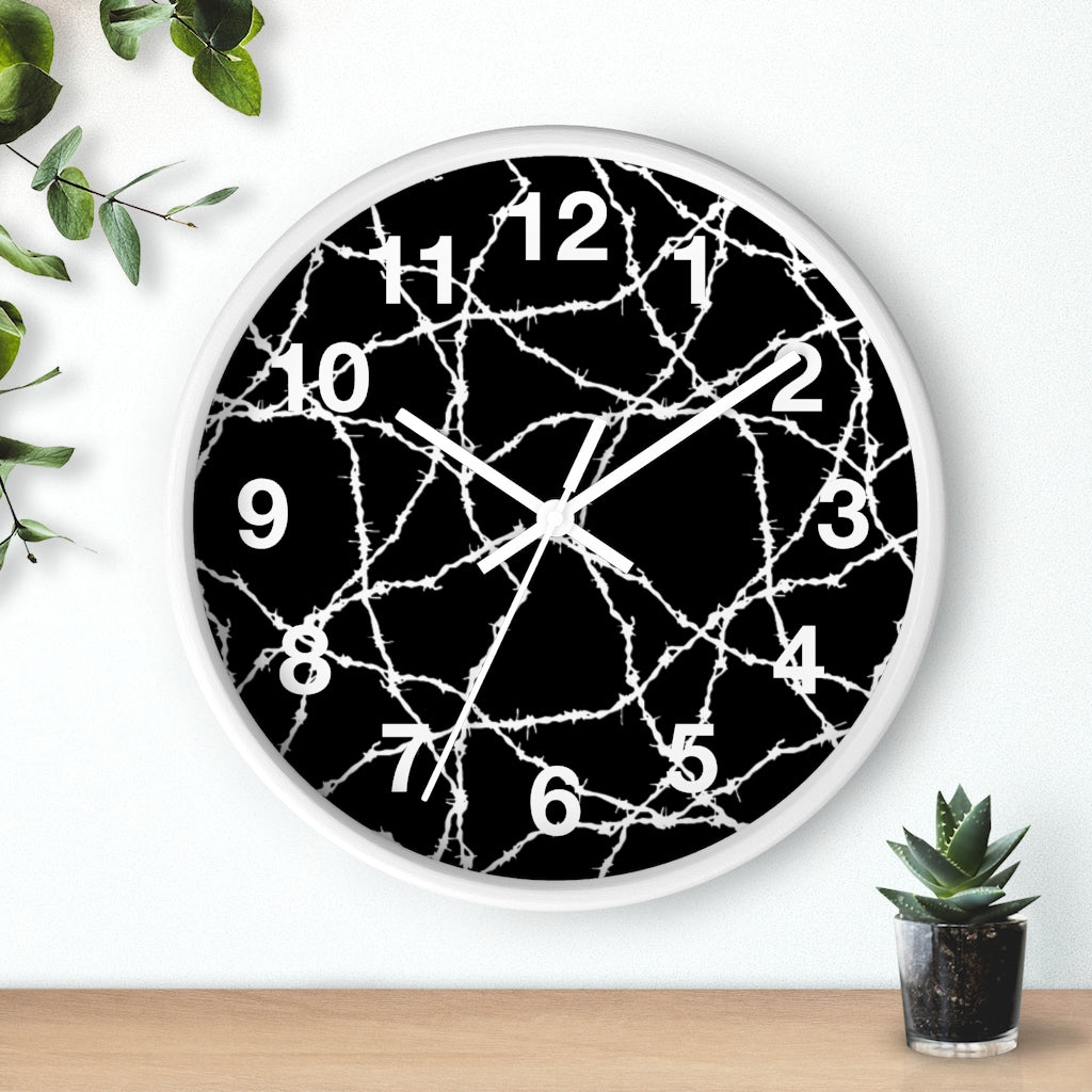 Wired Wall clock Artwork by: R.Rosales