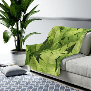 Palms Plush Blanket
