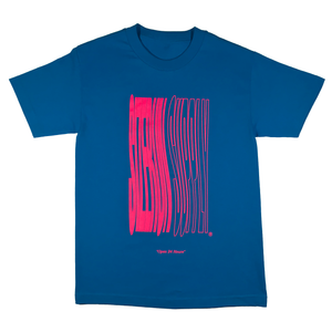 S/Z TRIP TEE TURQUOISE