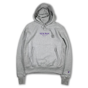 S/Z SMUDGE HOODED SWEATSHIRT GREY