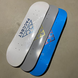 Paccbet Skate deck Set of 3