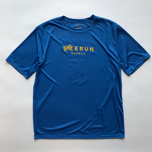 S/ZERUN SUPPLY X B.E.F Boston Marathon TSHIRT