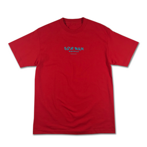 S/Z SMUDGE TEE RED