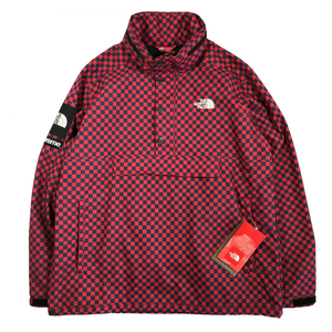 SUPREME X THE NORTH FACE CHECKERED PULLOVER JACKET
