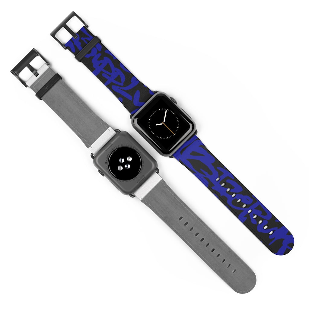 Script Watch Band For iWatch Artwork by: Rod Rosales