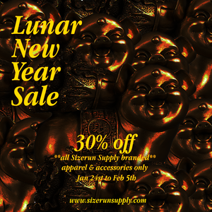 S/ZERUN SUPPLY LUNAR NEW YEAR SALE