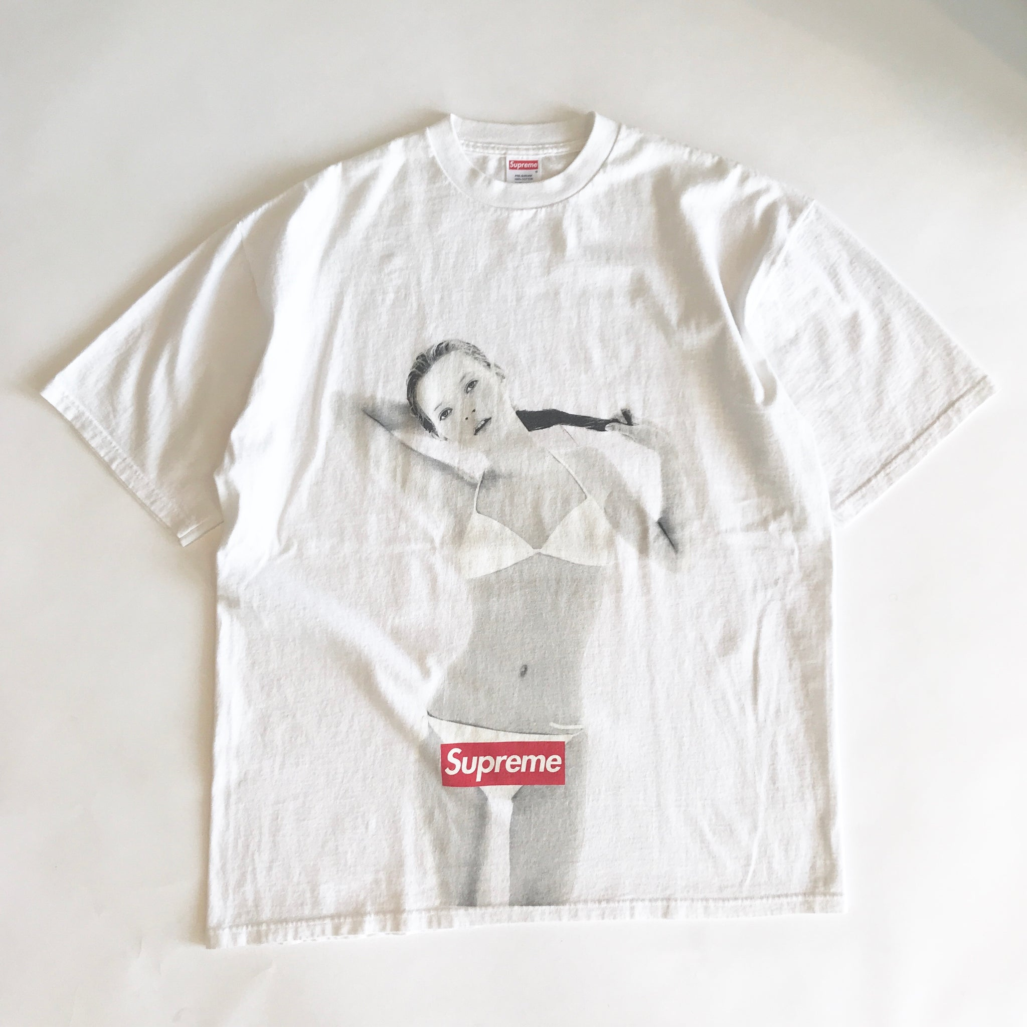 SUPREME KATE MOSS 10th ANNIVERSARY TEE