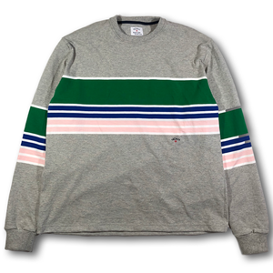 NOAH LONG SLEEVE STRIPE SHIRT
