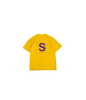 S/Z SHATTERED TEE YELLOW