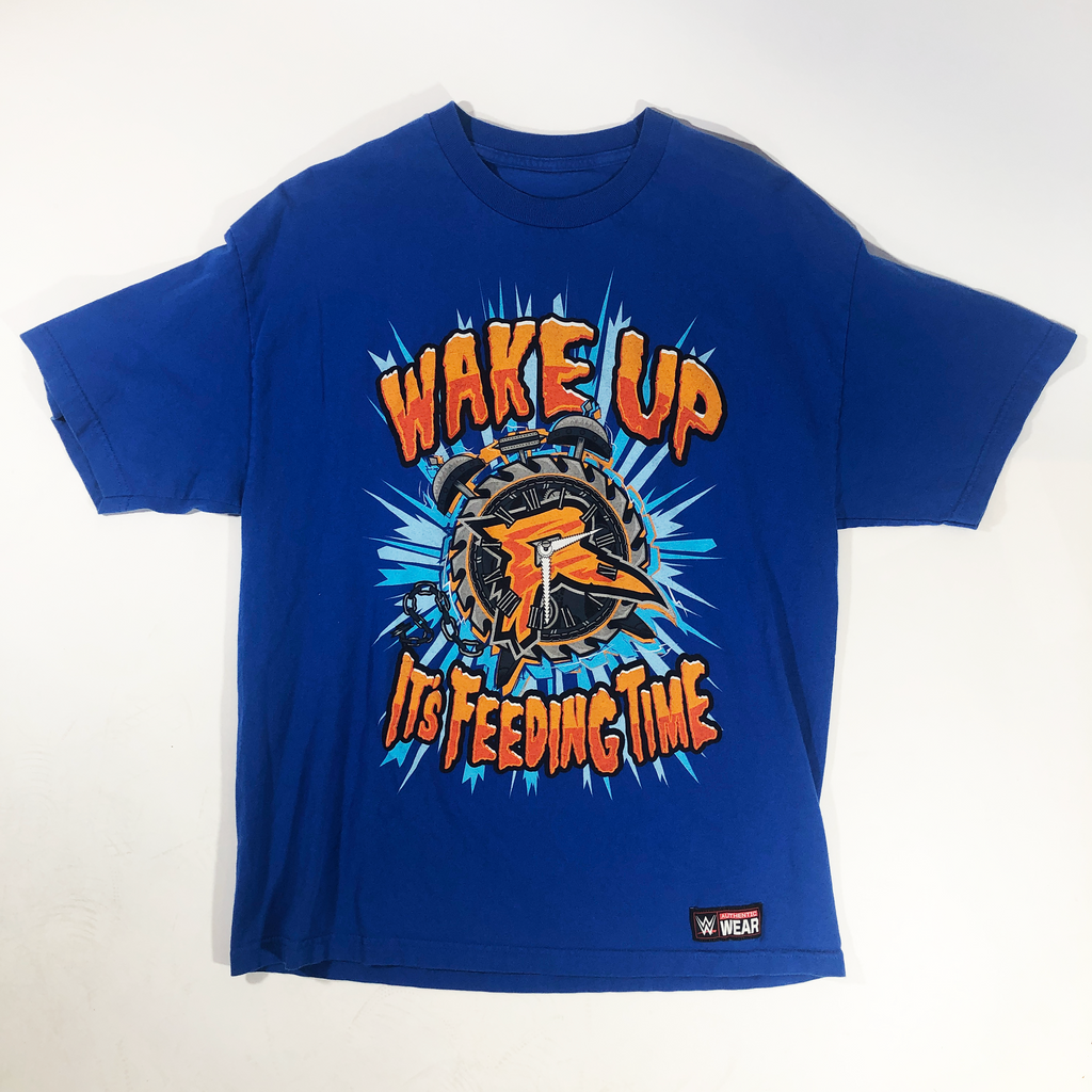 "VINTAGE WWE ""WAKE UP"" T-SHIRT"
