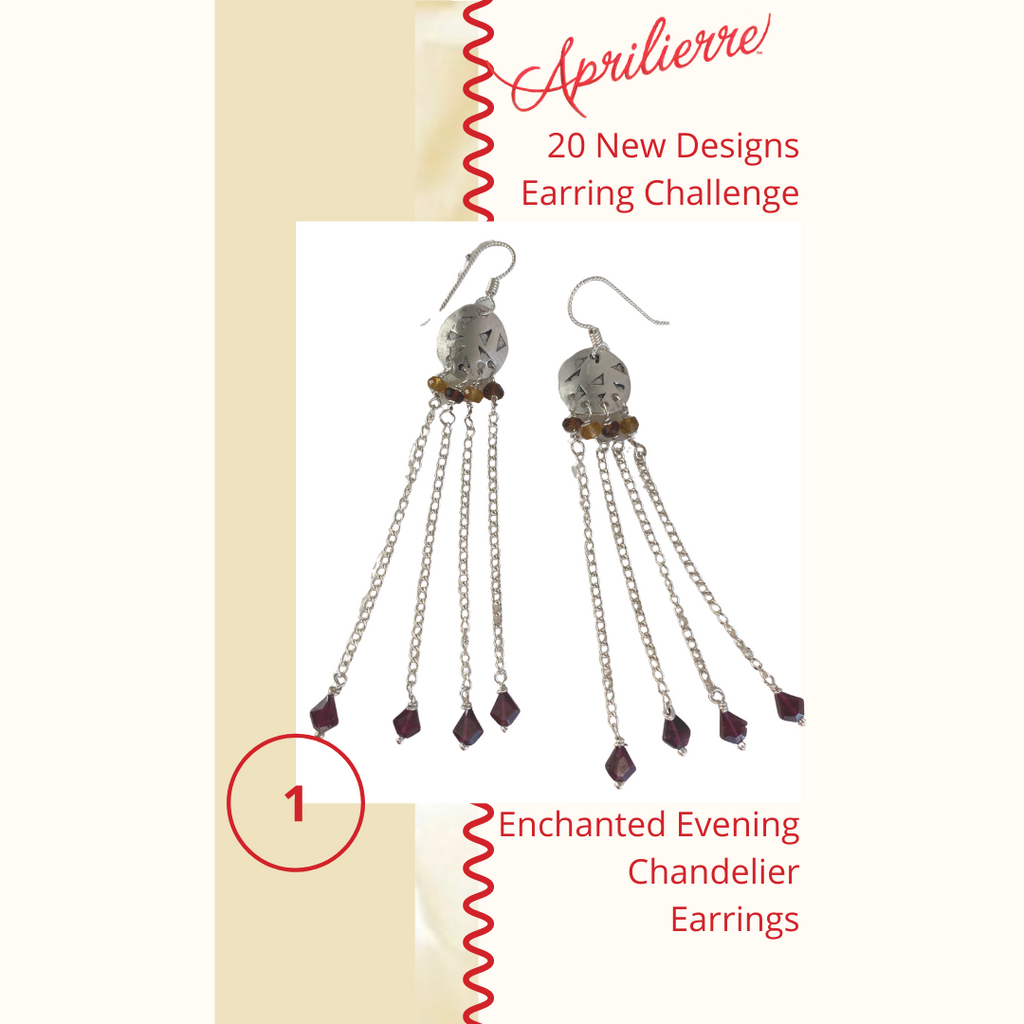 Earring Design #1 ~ Enchanted Evening