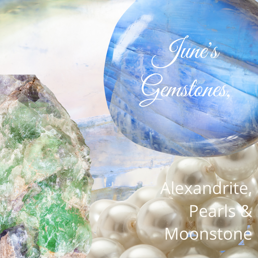 June's Trio of Gemstones