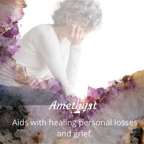 Amethyst and emotional healing image