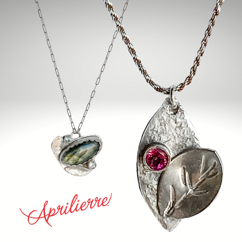 sterling silver necklaces by Aprilierre